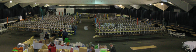 Reading Pigeon Association Winter Show Hall